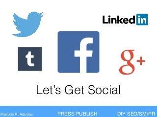 Social Media on WordPress - Press Publish Phoenix