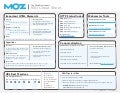 SEO cheat 2013 by Moz