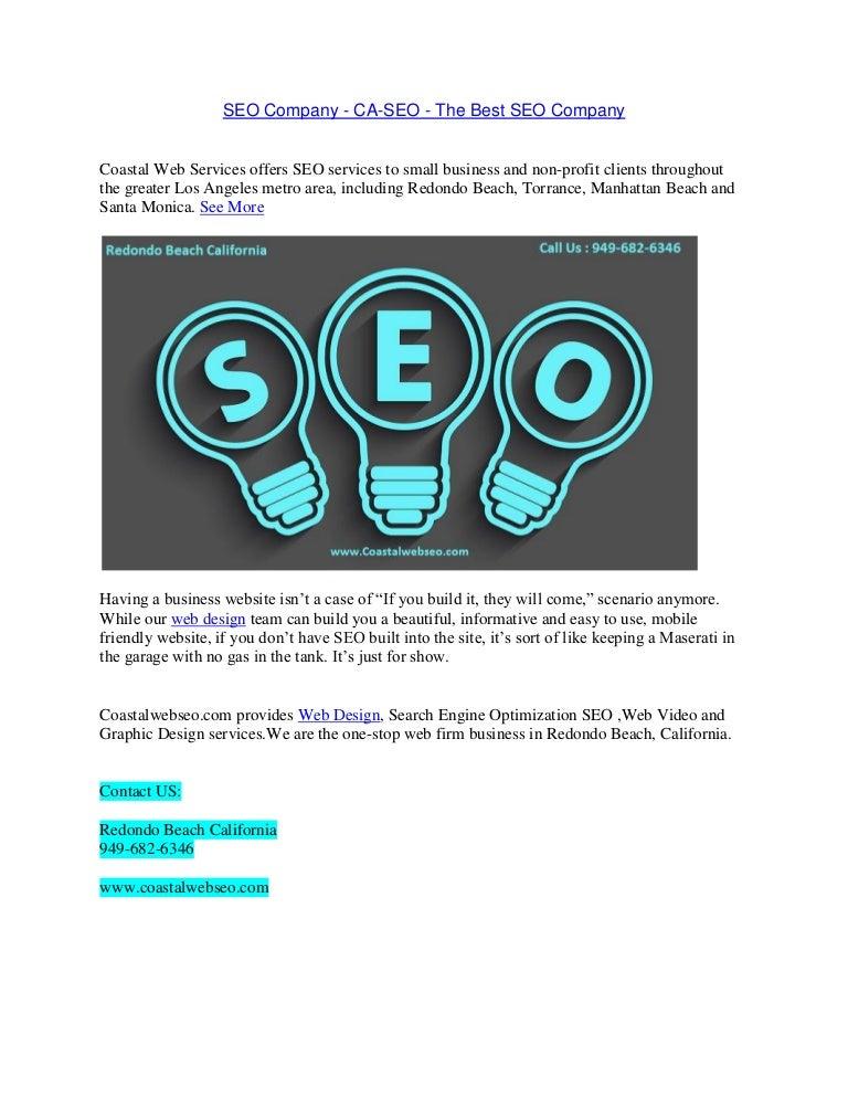 Seo Company Ca Seo The Best Seo Company