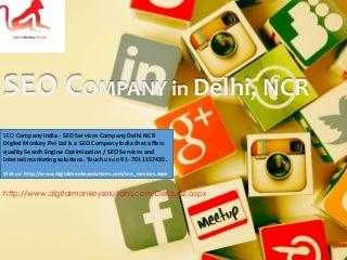 Seo company india seo services company delhi ncr