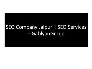 SEO Company Jaipur