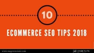 Ecommerce SEO TIps by Experts
