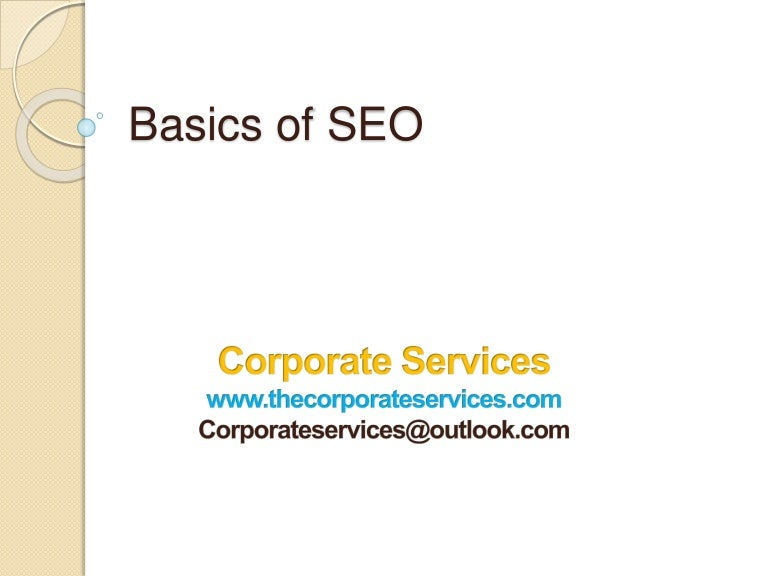 Search Engine OptimisationsSEO Proposal Corporate Services – Seo Proposal Template