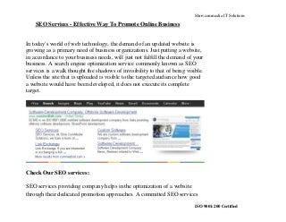 SEO Services - Link Building Services
