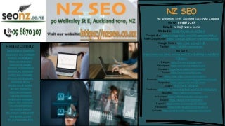 SEO Specialist - NZ SEO - Contact Us Today! 09 8870 307
