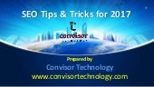 Seo tips and tricks for 2017