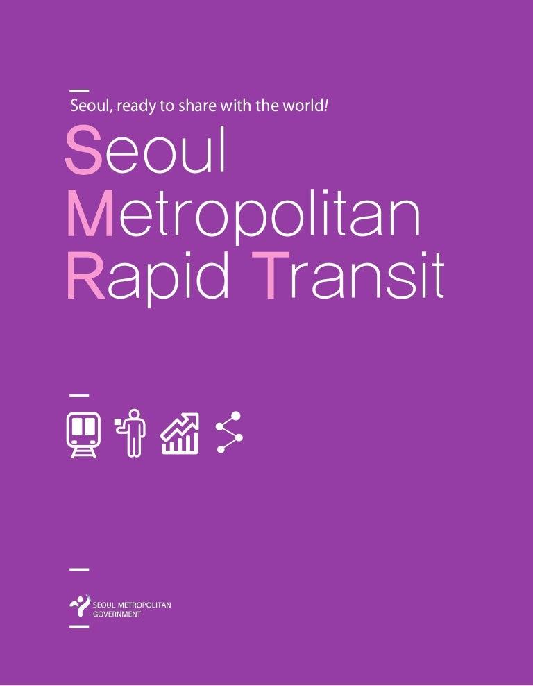 Seoul Subway Map 1989.Seoul Metropolitan Rapid Transit