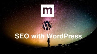 SEO with WordPress