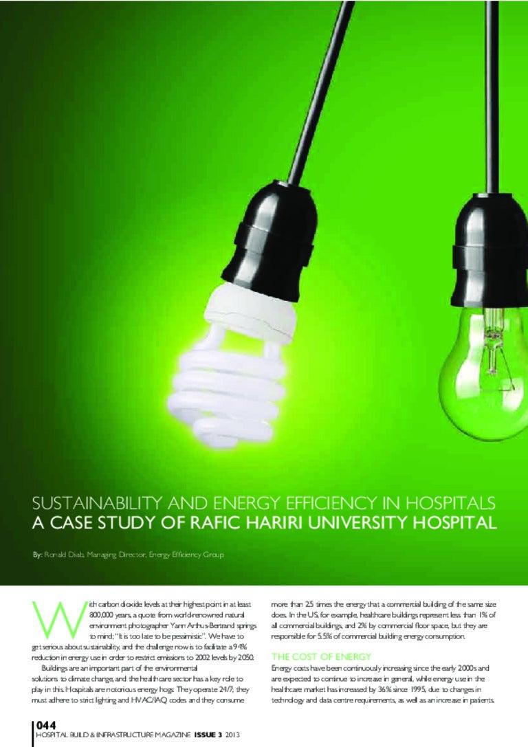 10 Ways Hospitals Can Boost Energy Efficiency |Energy Efficient Hospitals