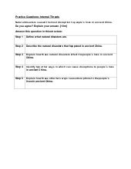 Seq Practice Questions   Internal Threats