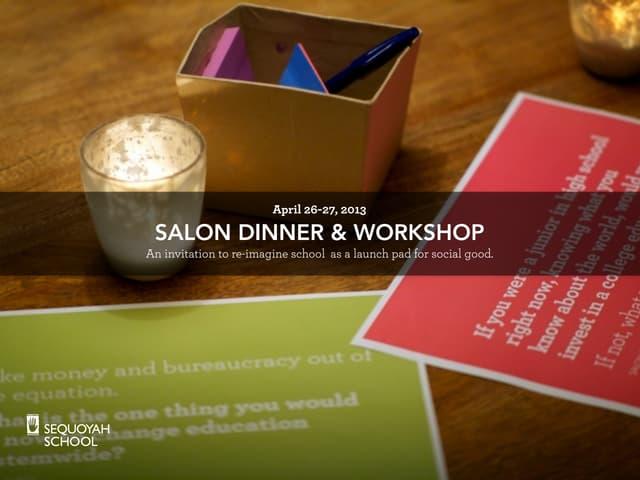 LA Salon & Workshop Reflections with Sequoyah School