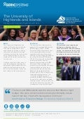 Seric case study University of Highlands and Islands