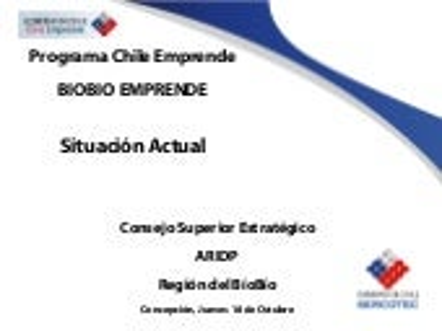 Sercotec Chile Emprende 18.10.07