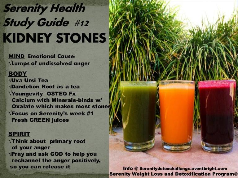 Serenity Health Information Series 12 Kidney Stones