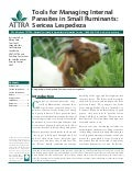 Tools for Managing Internal Parasites in Small Ruminants: Sericea Lespedeza
