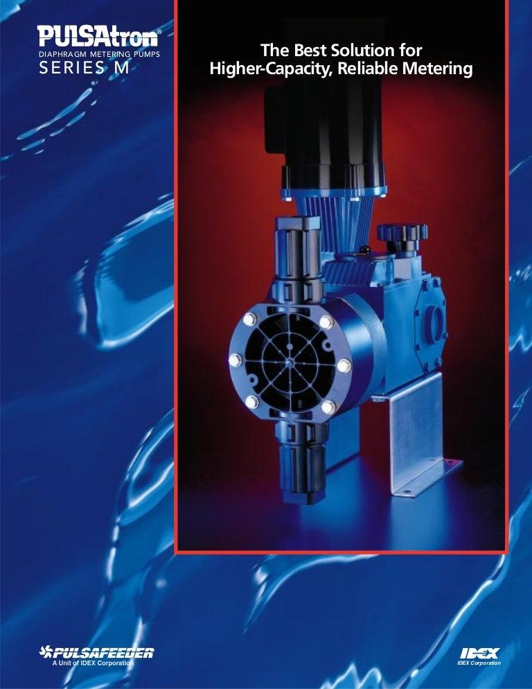 مضخات القياس الكهربائية فئة M