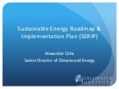 Sustainable Energy Roadmap & Implementation Plans (SERIP)