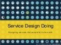 Service Design Doing