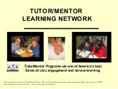Tutor/Mentor Volunteering is Adult Service Learning
