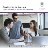 Services for businesses - protecting your business
