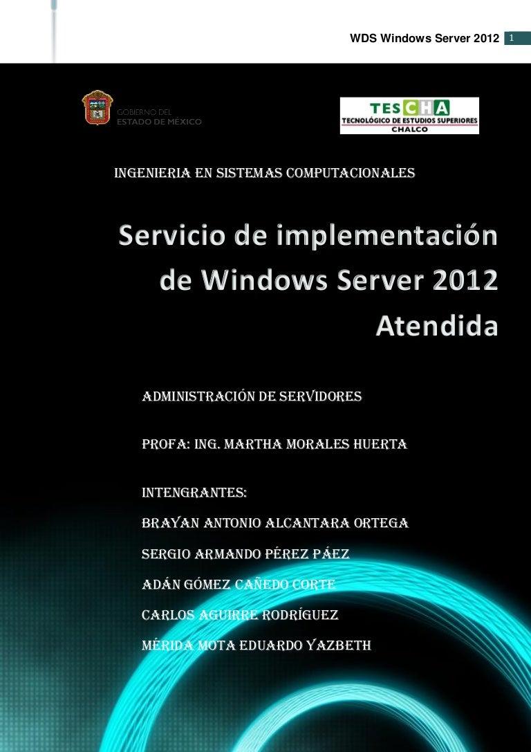 Servicio de implementación de windows atendida
