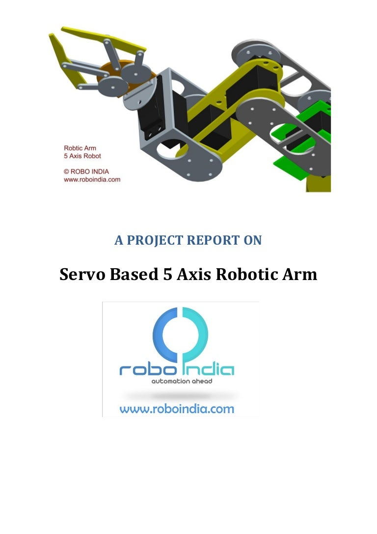 Servo Based 5 Axis Robotic Arm Project Report How To Configure Watchdog Timers Of Avr Microcontroller Atmega16