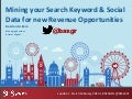 Keyword Datamining & Research - SES London 2014