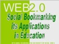 Social Bookmarking in Education