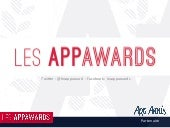 Session 1 Les AppAwards 2016