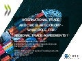 OECD Workshop on Regional Trade Agreements and the Environment Session 2.1 - Yamaguchi