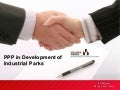 Public-private partnerships in development of industrial parks