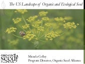 DIVERSIFOOD Final Congress - Session 7 - The US  landscape of Organic and Ecological Seed - Micaela Colley,