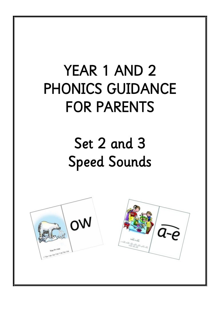 Set 2 3 Phonic Booklet For Parents 1