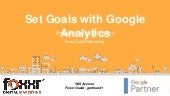 Set Goals with Google Analytics