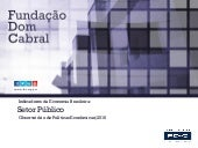 Indicadores da Economia Brasileira: Setor Público 2016