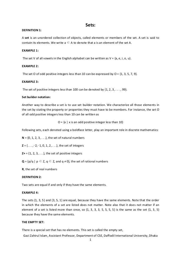 Sets in discrete mathematics biocorpaavc Image collections