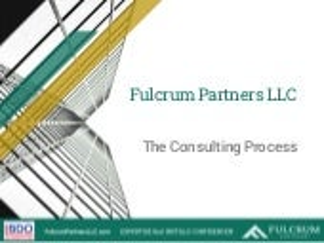 Fulcrum Partners Executive Benefits, 7-Step Process