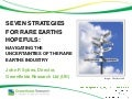 Seven Strategies for Rare Earths Hopefuls - Nov 2012 - Greenfields Research