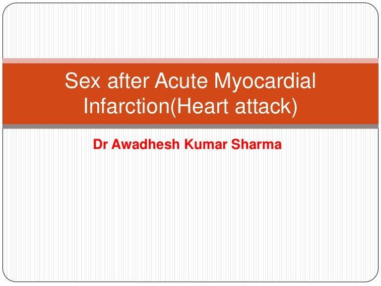 How long sex after heart stent