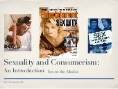 Sex & consumerism - An introduction
