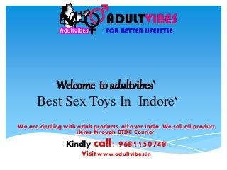 Sex Toys In Indore Madhya Pradesh