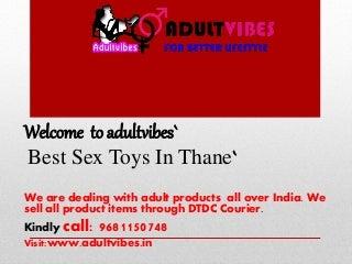 Sex Toys In Thane Maharashtra