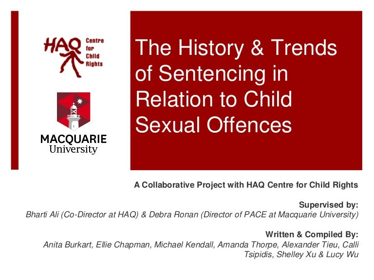 Child sex offence