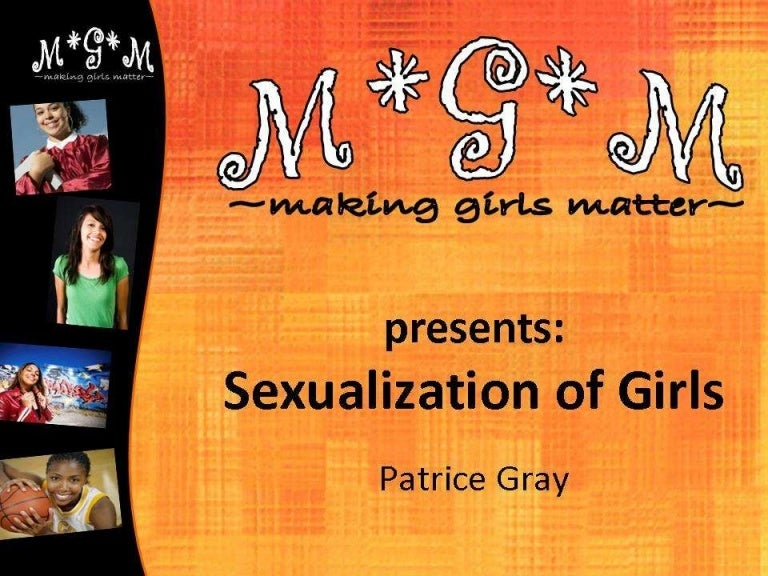 Sexualization of girls