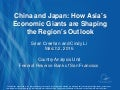 China and Japan: How Asia's Economic Giants are Shaping the Region's Outlook