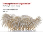 Strategy Focused Organization concept outline