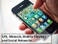 SFX, Metalib, mobile services and social networks