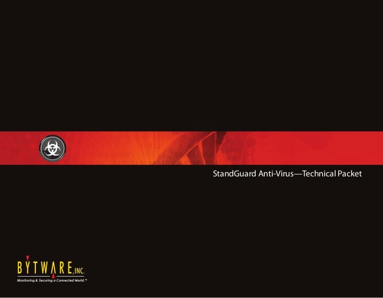 StandGuard Anti-Virus Tech Pack