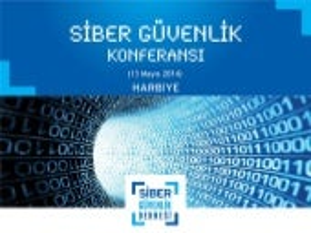 Siber Güvenlik Konferansı'14 Tanıtım Sunumu