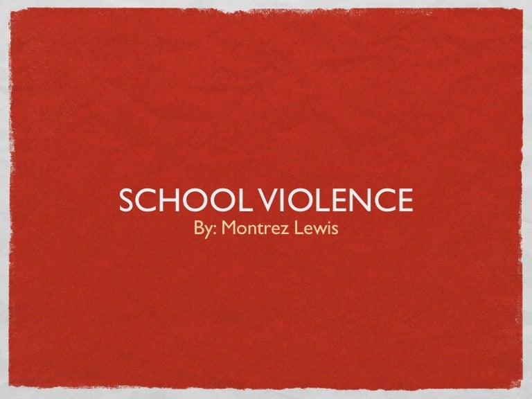 Sgp powerpoint school violence toneelgroepblik Gallery